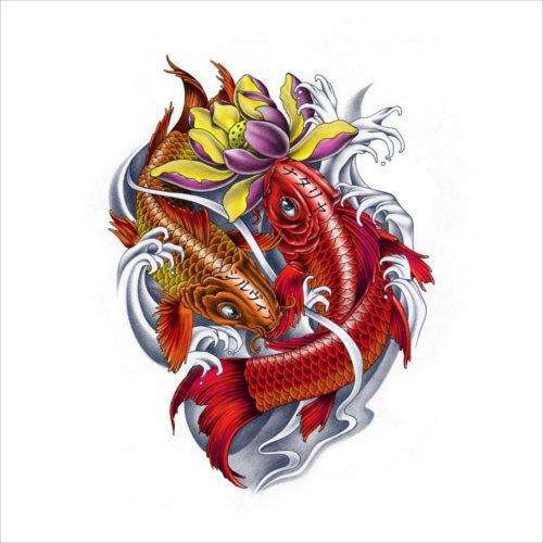 Znaczenie Tatuażu Ryba Koi Pomysł Na Tatuaż
